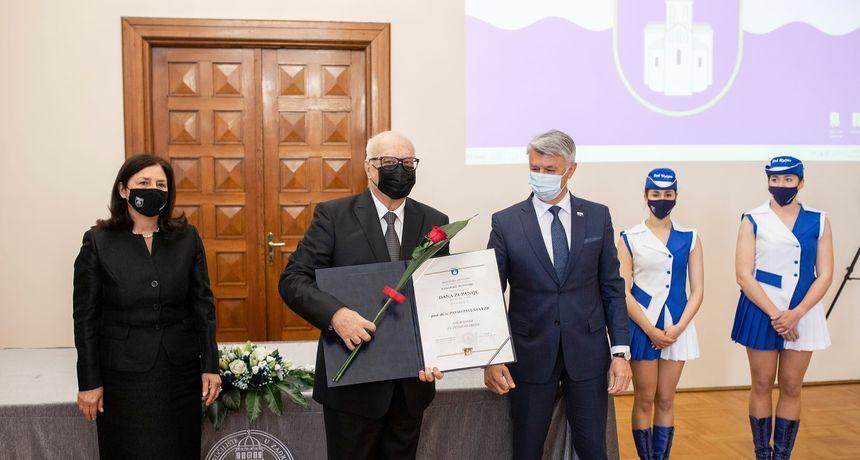Prof. dr Pavuši Vežiću nagrada Zadarske županije za životno djelo