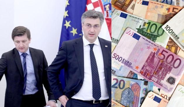 Andrej Plenković, Zdravko Marić, euro