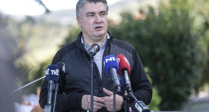 Milanović napao novinara zbog Puhovskog, a onda je u sve odlučio 'uplesti' i Kolindu Grabar-Kitarović