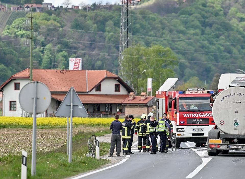 nesreća petrijanec poginuo biciklist