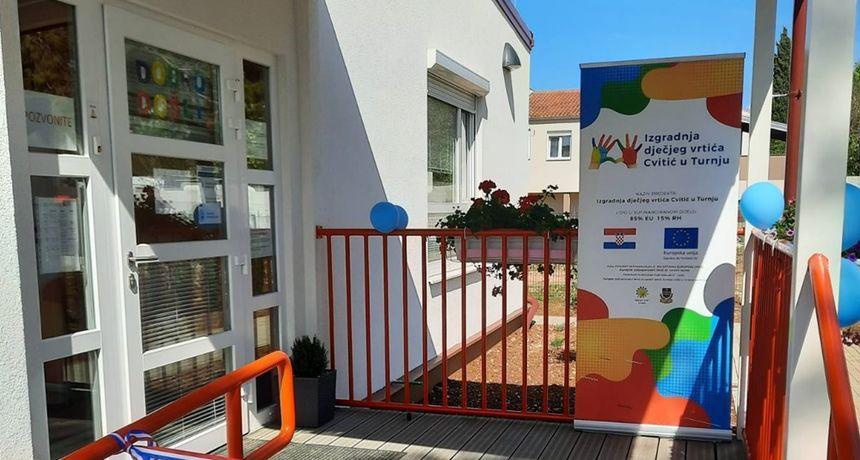 """U Turnju otvoren dječji vrtić """"Cvitić"""" financiran iz Programa ruralnog razvoja"""