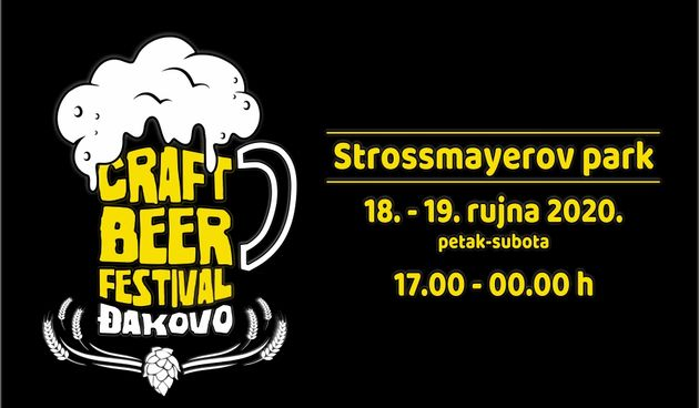 Đakovo Craft Beer Festival 2020. u Strossmayerovom parku