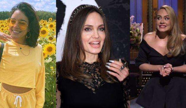 Vanessa Hudgens, Angelina Jolie, Adele