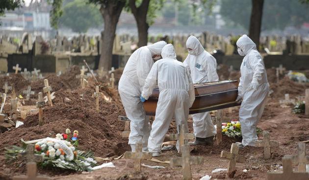Smrt od covida u Brazilu
