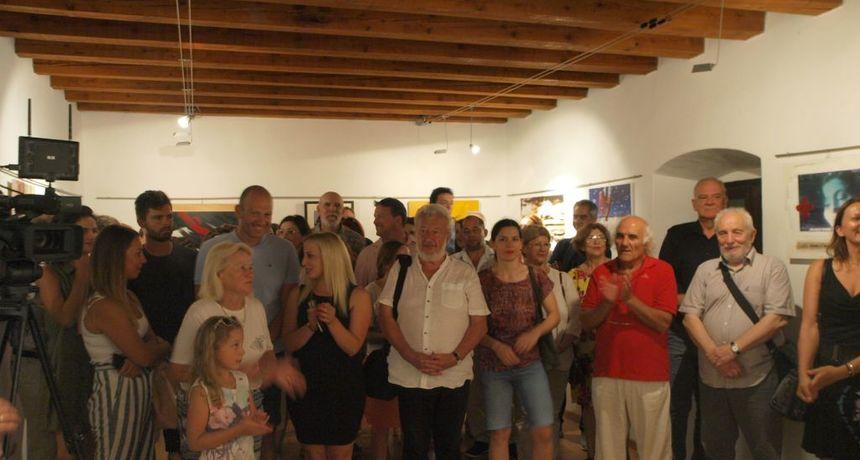 Otvorenje Ljetnog salona HDLU-a Zadar