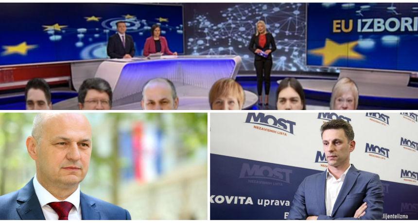 Analiza rezultata izlaznih anketa: Kolakušić veliko iznenađenje, Most podbacio