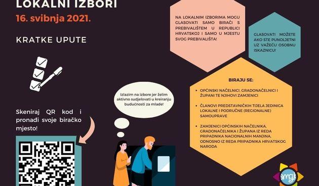Kako mlade Karlovčane motivirati da izađu na izbore - Savjet mladih objavio prigodnu infografiku i video...