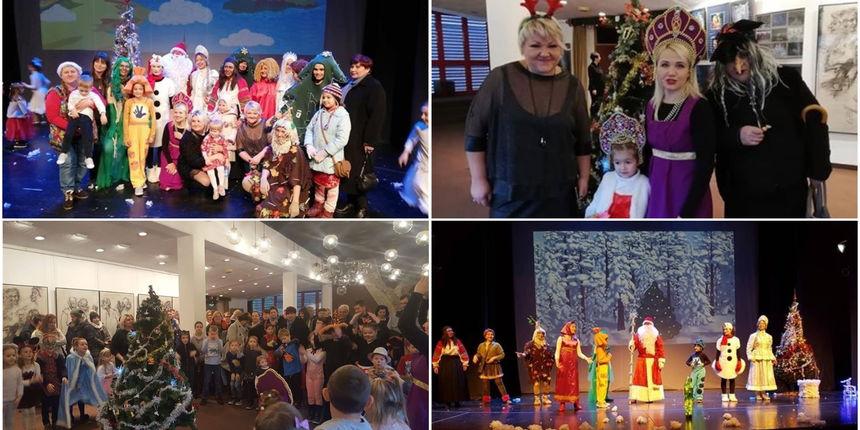 VIDEO I FOTO Udruga Kalinka priredila predstavu 'Novogodišnja bajka' ruske tradicije u Čakovcu