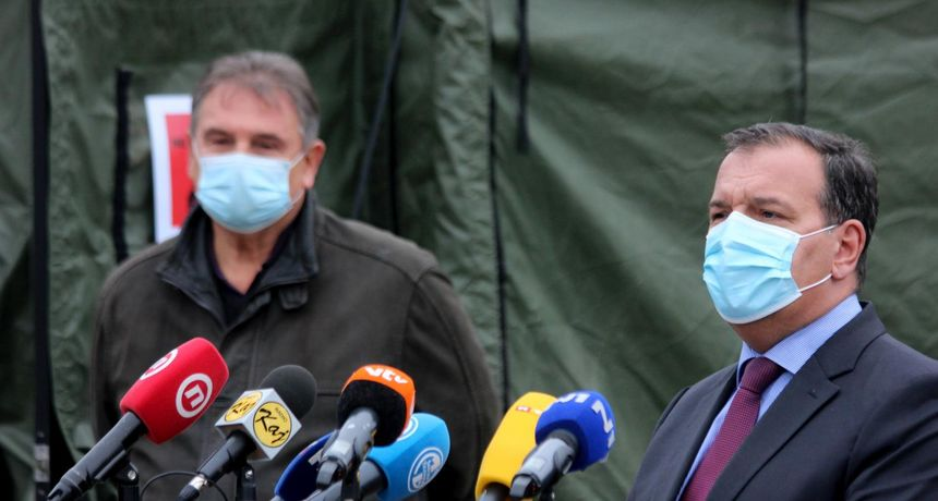 TEŠKO STANJE U VARAŽDINSKOJ BOLNICI Beroš: 'Danas šaljemo pet respiratora'