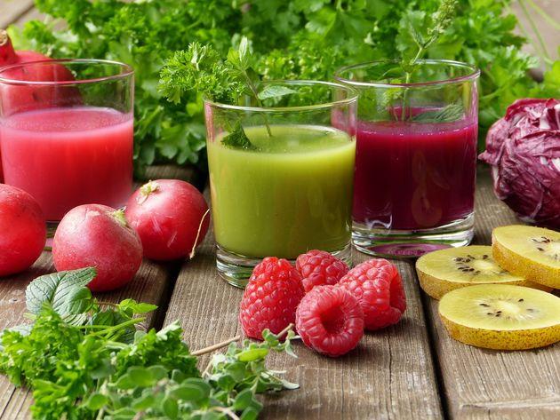 Konzumacija svježe cijeđenih sokova odličan je način detoksikacije