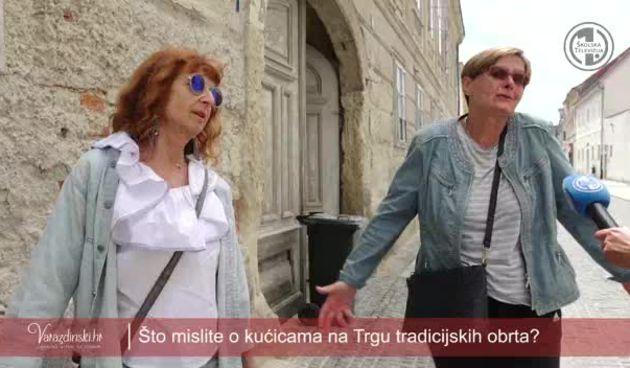 Anketa: Sviđaju li se Varaždincima nove kućice na Trgu tradicijskih obrta? (thumbnail)