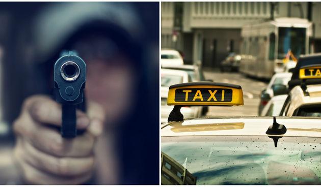 Razbojništvo u Zagrebu: Taksistu prijetio vatrenim oružjem da ga odveze do granice i opljačkao ga!