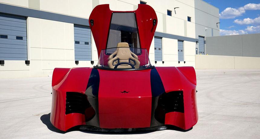 FOTO Prvi luksuzni sportski 'hovercraft': Upoznajte Arosu, superautomobil koji može voziti i na kopnu i po moru