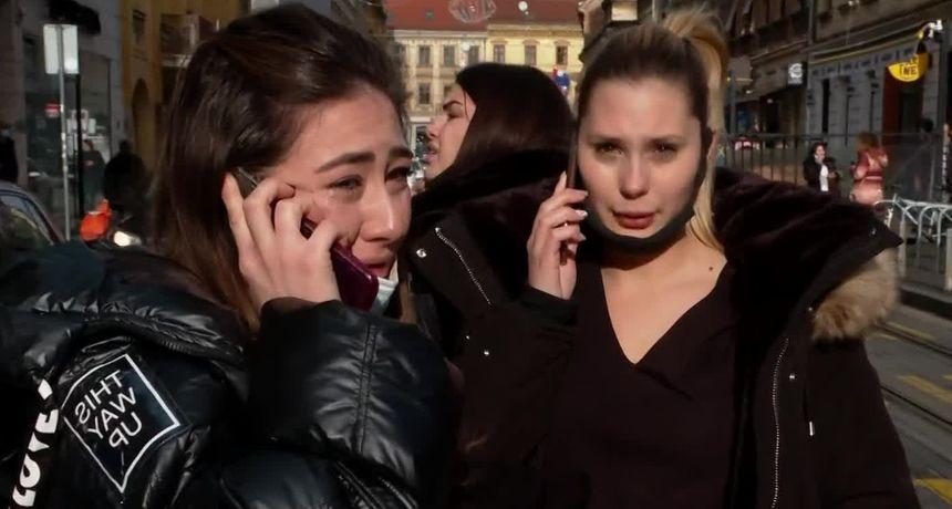 Razoran petrinjski potres snažno je uzdrmao i Zagrepčane: 'Ovo se sve počelo rušiti...'