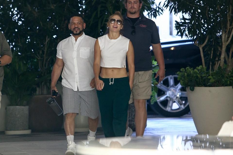Jennifer Lopez i Benny Medina
