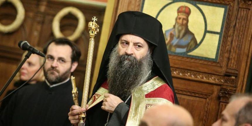 Mitropolit Porfirije objavio da žali zbog pjevanja četničke pjesme