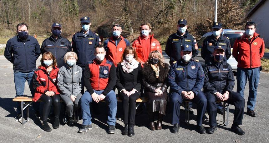Obilježen Dan civilne zaštite - županica Martina Furdek Hajdin organizirala prijam za pripadnike operativnih službi