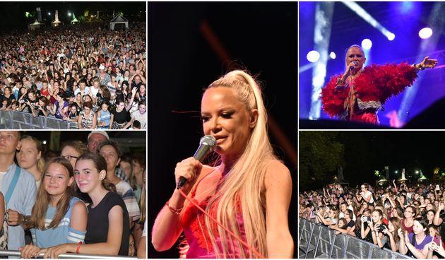 Vrckava Maja Šuput rasplesala publiku u jezeru Staroga Grada
