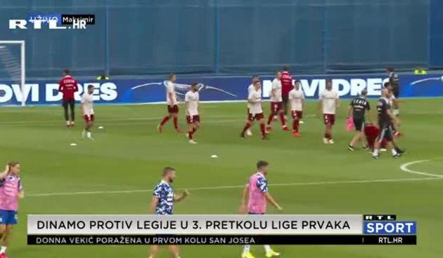 Dinamo protiv Legije po rezultat koji osigurava mirniji uzvrat (thumbnail)