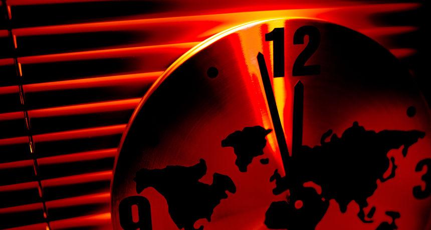 Koliko nas dijeli od apokalipse? Sat Sudnjeg dana ostaje na 100 sekundi do ponoći, evo i koji je razlog