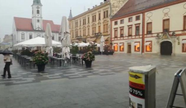 Poplava na Korzu nakon kiše (thumbnail)