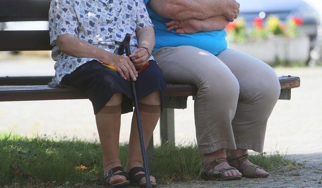 Baka i djed, stari ljudi, stariji, umirovljenici