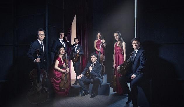 Austrijski ansambl Oberton String Octet i ruski orguljaš Aleksej Vilegžanin u Kneževom dvoru