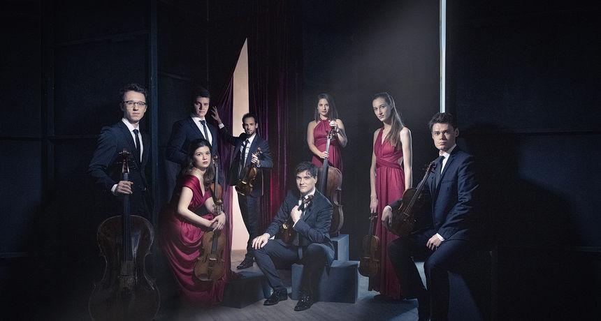 Pag: Koncert Oberton String Octeta i Alekseya Vylegzhanina u atriju Kneževog dvora