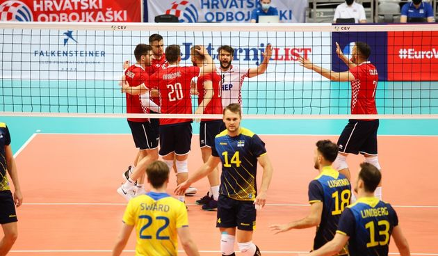 Kvalifikacije za odbojkaško EP: Hrvatska - Švedska 3-1