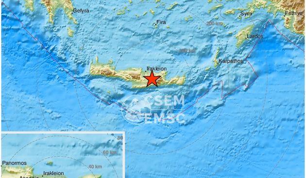 potres, grčka