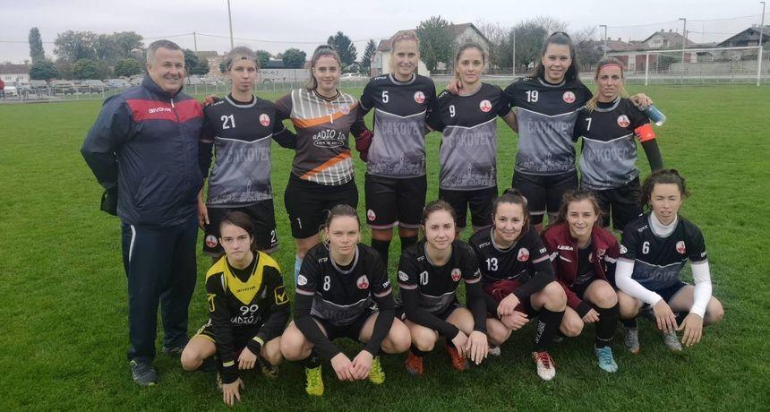 ŽNK KATARINA ZRINSKI Pobjeda s 12 golova u mreži Odre