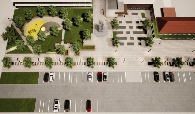 Pogledajte kako će izgledati novi trg i park u Čepinu