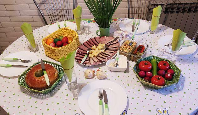 uskršnji doručak