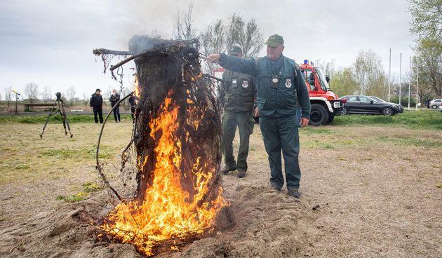 spaljivanje ribolovnih mreža