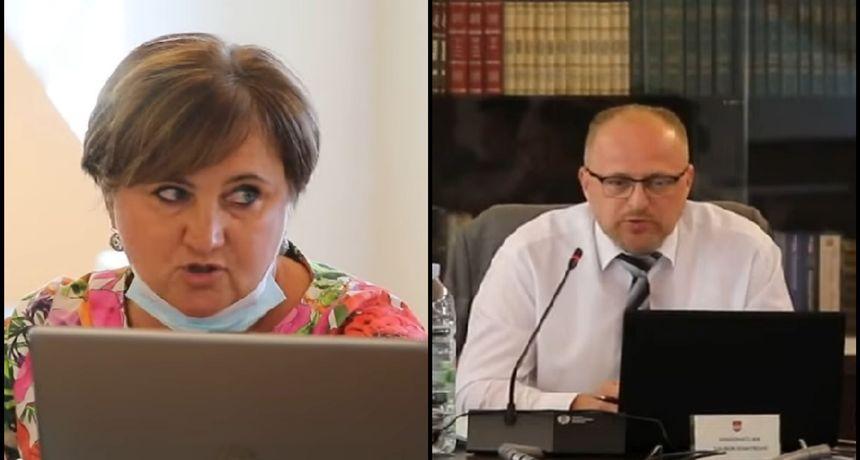 Na aktualnom satu HDZ- ova vijećnica Salopek o (ne)grijanju gradske dvorane, gradonačelnik Domitrović: Već godinu dana iznosite laži o tom projektu