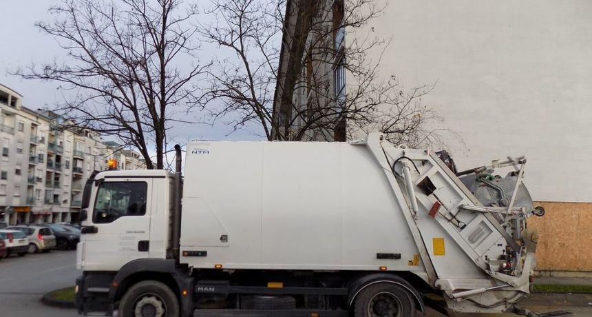Neradno Tijelovo bez odvoza komunalnog otpada u Karlovcu - bit će odvezen u petak
