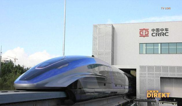 Superbrzi vlak u Kini