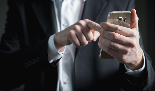 Mobitel, tipkanje