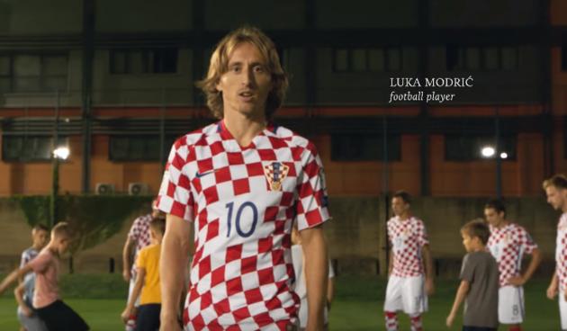Luka Modrić spot
