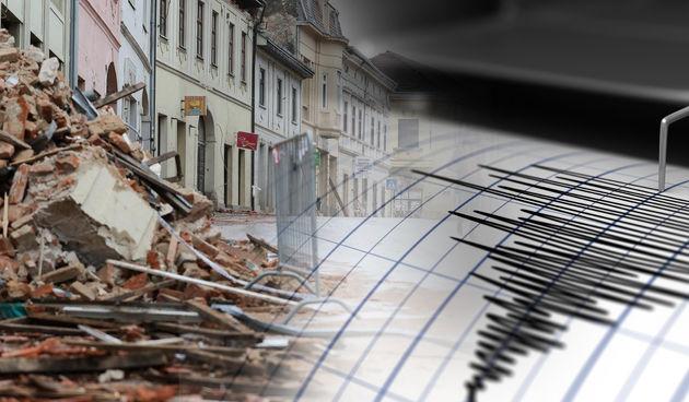 petrinja potres ilustracija