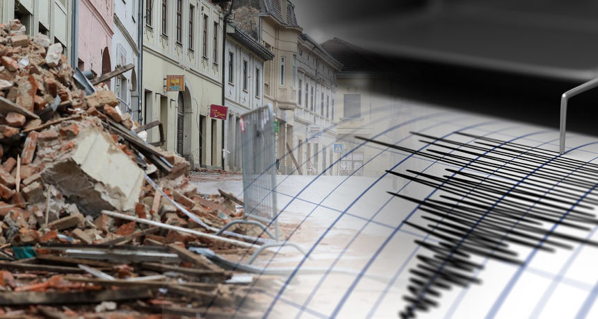 Opet prilično jak potres kod Gline: Seizmolozi javljaju da je magnituda iznosila 4,2 prema Richteru