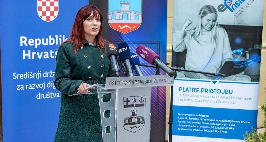 U Osijeku predstavljen projekt sustav e-Pristojbe: Lakše i brže plaćanje pristojbi i naknada