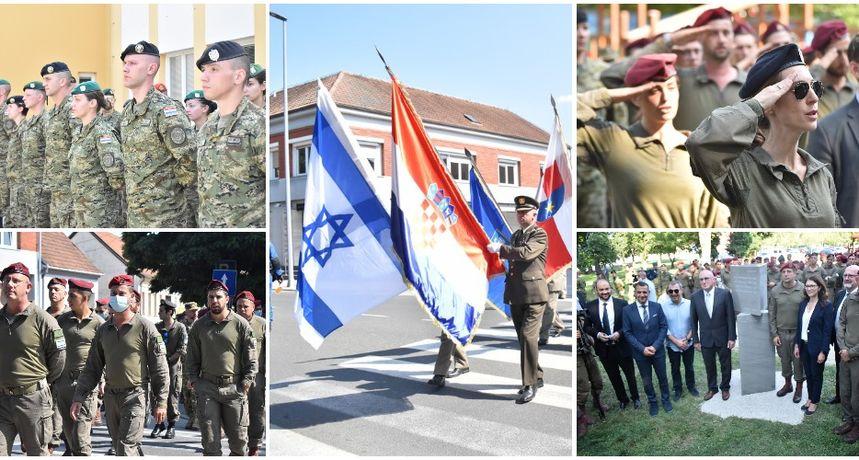 MEMORIJALNA ŠETNJA Hrvatski i izraelski vojnici zajedno u spomen na junakinju Hannu Szenes