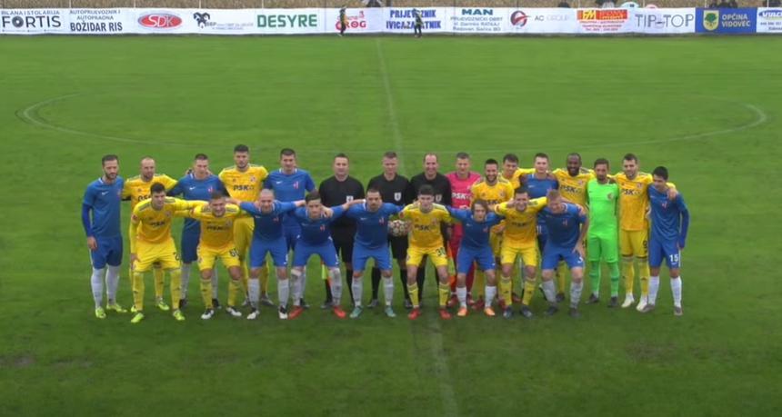 VIDEO Nogometnu feštu u Nedeljancu nije pokvarila ni kiša: Dinamo uvjerljivo pobijedio domaćine