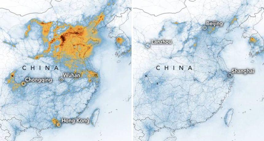 Što se to događa iznad Kine? NASA objavila šokantne fotografije iz svemira: 'Ovo vidim prvi put!'
