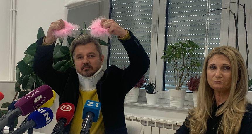 Juričan najavio da sutra u 8 privodi ministra Malenicu policiji. A onda su krenula pitanja o sastanku Vukovića i Benčić