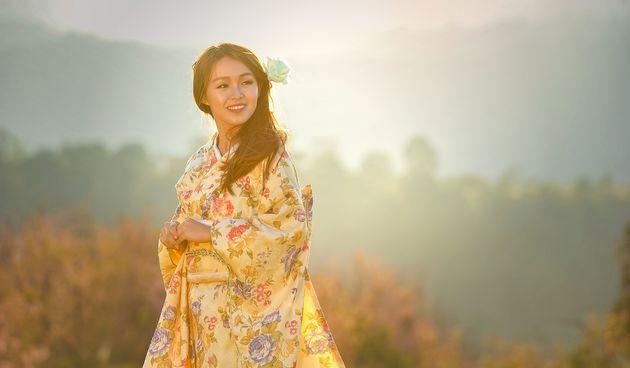 žena, japan