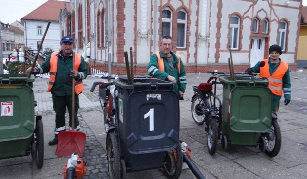 Čakovec, očistili grad nakon novogodišnje noći, GP Čakom