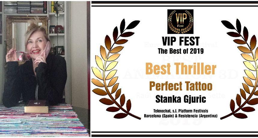 VIDEO Film Čakovčanke Stanke Gjurić 'Perfect Tattoo' proglašen pobjednikom u Barceloni