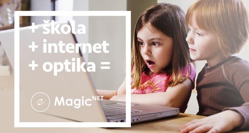 U Magic Netu osigurajte bržu i bezbolniju školsku godinu